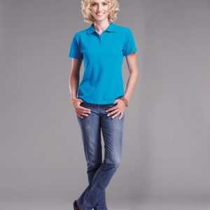 200g Ladies Pique Knit Golfer