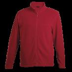 Mens Hybrid Fleece Red