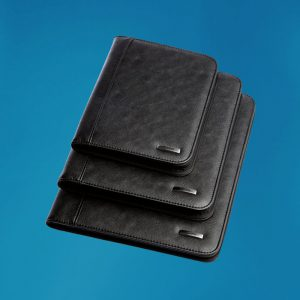 Soft PU A4 Zippered Folder