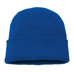 Knitted Beanie - Royal
