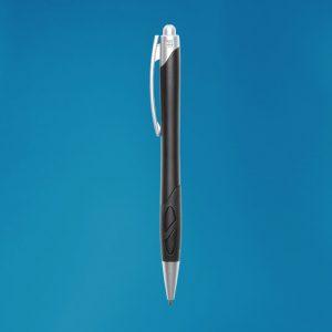 Cut out grip ballpoint pen