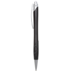Cut out grip ballpoint pen Black