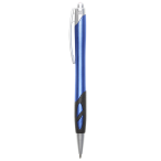 Cut out grip ballpoint pen Blue