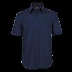 Mens Basic Shortsleeve Shirt Navy