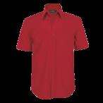 Mens Basic Shortsleeve Shirt Red
