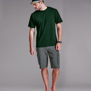 170g Combed Cotton Crew Neck T-shirt