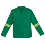 Poly Cotton Conti with Reflective - Emerald Jacket