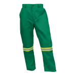Poly Cotton Conti with Reflective - Emerald Pants