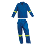 Poly Cotton Conti with Reflective - Royal Blue