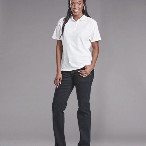 175g Ladies Pique Knit Golfer